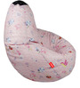 Colour Fairies Digital Printed Bean Bag Cover in Multicolour by Orka