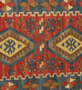 Contrast Living Multicolour Wool & Cotton 24 x 36 Inch Nikunj Hand Woven Dhurrie