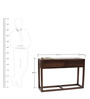 Cotsworld Solid Wood Study Table in Provincial Teak Finish by TheArmchair