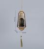 Courtyard Golden Iron Belur Antique Hanging Tea Light Holder