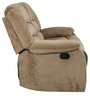 Cove Fabric Two Seater Recliner in Mocha Colour by HomeTown