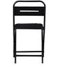 Marandoo Grunge Black Outdoor Folding Chair by Bohemiana