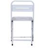 Marandoo Grunge White Outdoor Folding Chair by Bohemiana