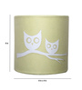Craftter Cream Owls Wall Lamp