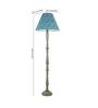 Craftter Green Fabric Floor Lamp