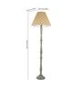 Craftter Yellow Fabric Floor Lamp