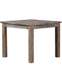 Rihanna Four Seater Dining Table in Distress Finish by Bohemiana