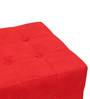 Cronaland Square Ottoman in Red Colour by SIWA Style