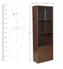 Crony Book Case Medium in Brown Colour by HomeTown