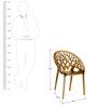 Crystal Umbra Chair by Nilkamal
