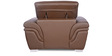 Curvilinear Sofa Set (1+2) Seater in Coffee Brown Color by Godrej Interio