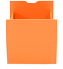 Yuma Cube Cabinet Drawer in Orange Colour by Mintwud