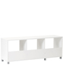 Yuma Cube Cabinet in White Colour by Mintwud