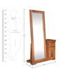 Cubus Dresser with Full Mirror by @home