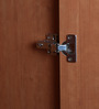 Cupid Four Door Wardrobe in Brown Colour by Lalco Interiors