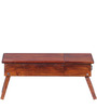 Oakville Low Height Study Table in Honey Oak Finish by Woodsworth