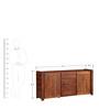 Elroy Sideboard in Honey Oak Finish by Woodsworth