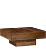 Wellesley Low Height Solid Coffee Table in Provicial Teak Finish by Woodsworth