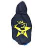 CV Star Dog Hoodie in Black & Yellow (Size 24)
