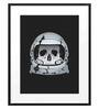DailyObjects Paper Astroskull Framed Art Print