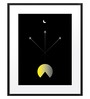 DailyObjects Paper Fighter Jets Framed Art Print