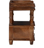 Vemaki Bed Side Table in Provincial Teak Finish by Mudramark