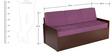 Deborrah Sofa Cum Bed in Purple Colour by Auspicious