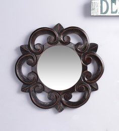 Decorhand MDF Brown Mirror - 1566317