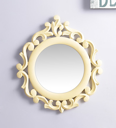 Decorhand MDF Yellow Mirror - 1566298