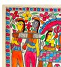 De Kulture Works Handmade Paper 15 x 11 Inch Doli Painting