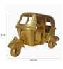 De Kulture Works Multicolour Brass Tuk-Tuk Miniature Showpiece