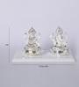 Decardo Silver Plated Terracotta Idol