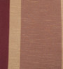 Deco Essential Burgundy Polyester 46 x 90 Inch Jacquard Eyelet Door Curtain - Set of 2