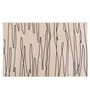Decorika Cheetah Pink PVC Striped Table Mat - Set of 6
