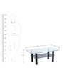 Delite Center Table in Black Colour by Nilkamal