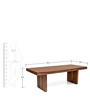 Delmonte Eight Dining Table by @Home