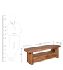 Delmonte Low Height Wall Unit with Walnut Finish by @home