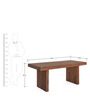 Delmonte Six Seater Dining Table by @home