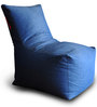 Denim Chair Bean Bag XXL size in Blue DenimColour with Beans by Style Homez