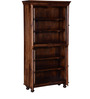 Denison Book Case in Provincial Teak Finish by Amberville
