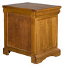 Denver Bedside Table in Brown Oak Colour by HomeTown
