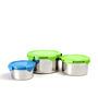Deseo Penta Lock Multicolour Storage Container - Set of 3