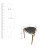 Designer Black Stool by Exclusive Furniture