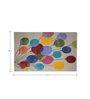 Designs View Multicolor Woolen Rectangular Balloon Kids Carpet