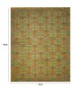Designs View Multicolour Wool 96 x 72 Inch Hand Knotted with Hand Stitched Embroidery Area Rug