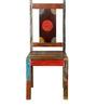 Keshia Dining Chair in Distress Finish by Bohemiana