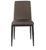 Dining Chair Set of 2 in Brown Colour by Parin
