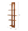 Urbano Contemporary Wall Shelf in Brown by CasaCraft