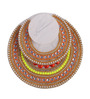 Largessee Multicolour Acrylic Diwali Kundan Stone T Light