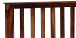 Polson King Size Bed in Provincial Teak Finish by Woodsworth